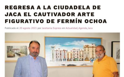 Revista de prensa: Jacetaniaexpress se hace eco de la exposición en la Ciudadela